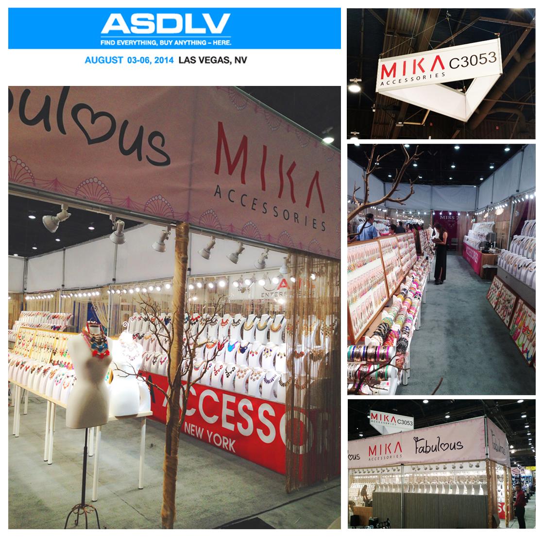 ASD SHOW AUGUST 2014 MIKA ACCESSORIES